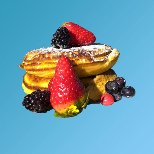 Tortitas pancake americano happymorningbox
